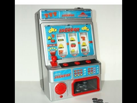 Casino 777 Super Jackpot Slot Machine Toy