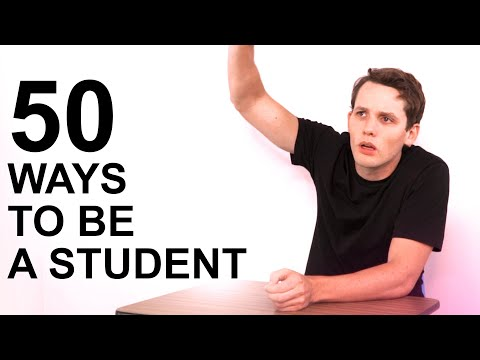 50 Ways to Be a Student