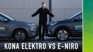 Hyundai Kona vs Kia e-Niro: These are the differences!