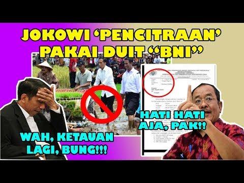 TERBONGKAR ! BNI BIAYAI JOKOWI KE DESA DESA/DAERAH ! SELINGKUH KAN ? #2019GP #INDONESIAMENANG !