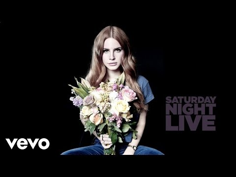 Lana Del Rey -  Games  on SNL
