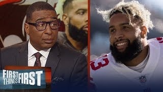 Cris Carter on Browns trade for OBJ: 'best move' made as a franchise | NFL | FIRST THINGS FIRST