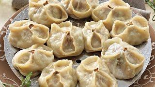 Как готовить  манты. Рецепт с бараниной и тыквой.(Манты - знаменитое мясное блюдо стран Центральной Азии. Представляют из себя мясную начинку, чаще из барани..., 2016-10-03T05:00:00.000Z)