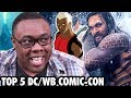 TOP 5 COMIC-CON 2018 TRAILERS (DC/WB Edition) - Reaction & ICE CREAM!!!