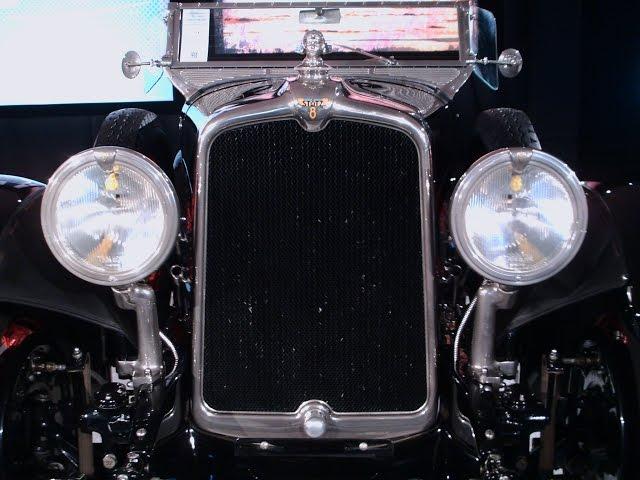 1927 Stutz Blackhawk Speedster Blk AmeliaIsland031315