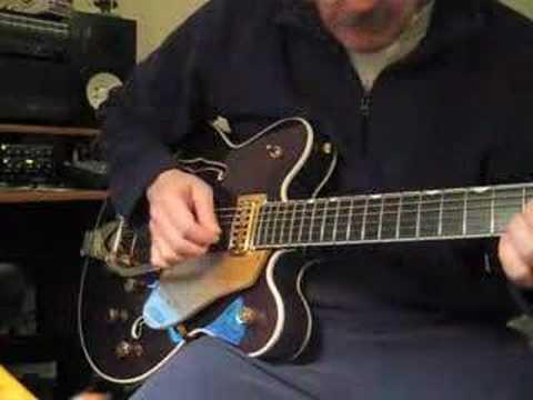 Sleepwalk on a Gretsch Guitar