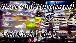 Illegal Sneakers Fake Market. Yeezy 700, 350 V2, Air Jordan, Nike, Adidas and more!