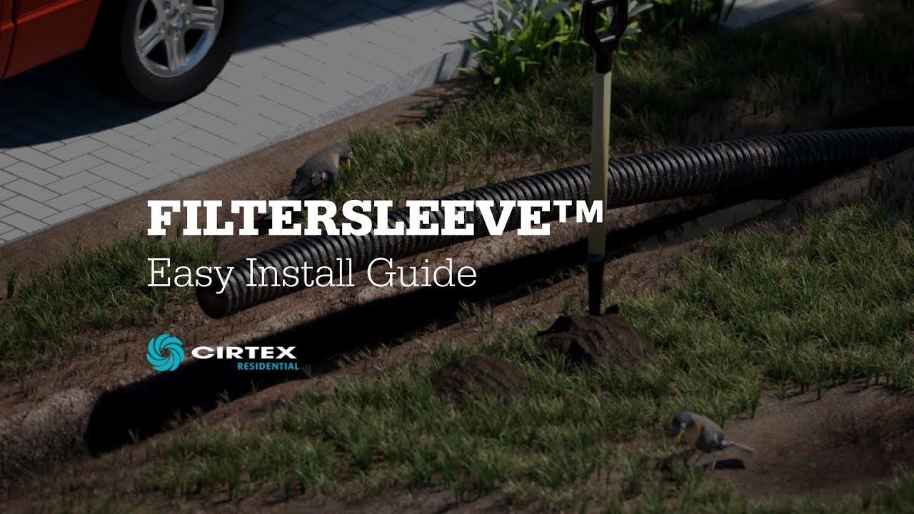 FilterSleeve™ - Subsoil Drainage Sleeve - Easy Install Guide