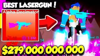 BUYING The $279,000,000,000 LASERGUN In Laser Legends And I Got INFINITE ENERGY! (Roblox) screenshot 2