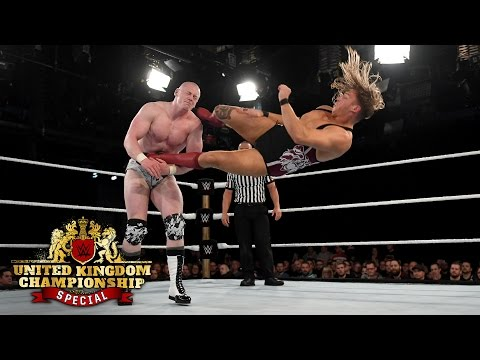 Sam Gradwell vs. Pete Dunne: Watch the WWE U.K. Championship Special today on WWE Network