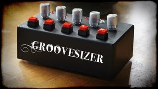 Groovesizer mk1 - DIY 16-step sequencer and synth