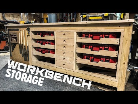 Ultimate Outfeed/Workbench Storage Build