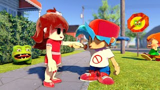 Baby Boyfriend Meets Girlfriend Friday Night Funkin Animation
