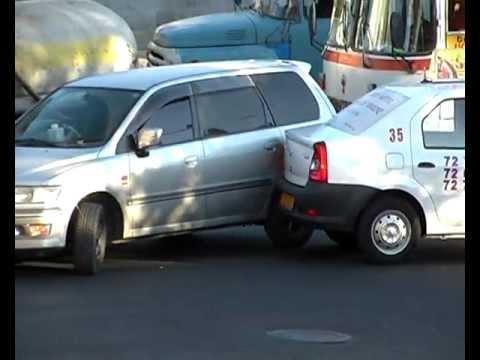 DTP Авария, Erevan, 17.10.2012
