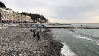 03.01.2019 Погода в Сочи в январе. Смотри на Чёрное море каждый день.