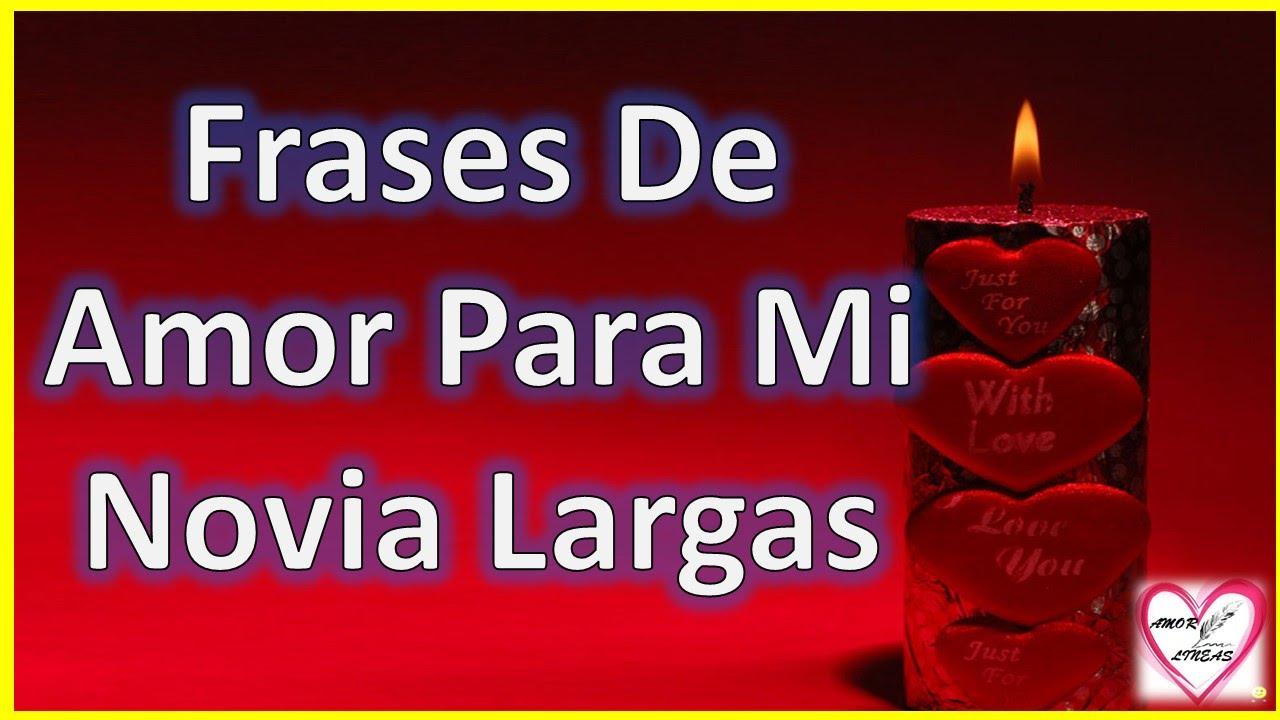 Frases De Amor Para Mi Novia Largas Y Bonitas Poemas Para Mi Novia