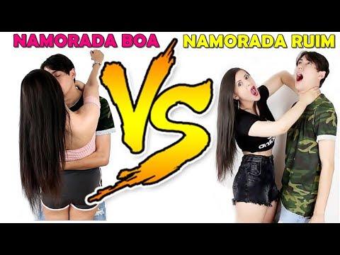 NAMORADA BOA VS NAMORADA RUIM