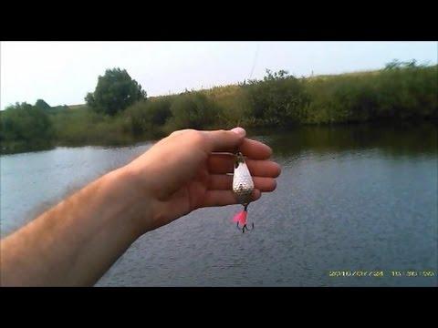 Ловля щуки на блесну летом