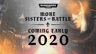 Sisters Of Battle 2020 Reveal