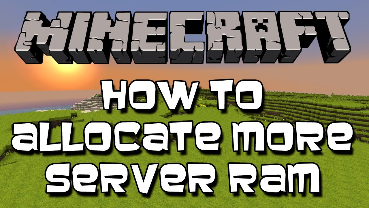 How To Increase Minecraft Server RAM (1 7 5) (Easy)