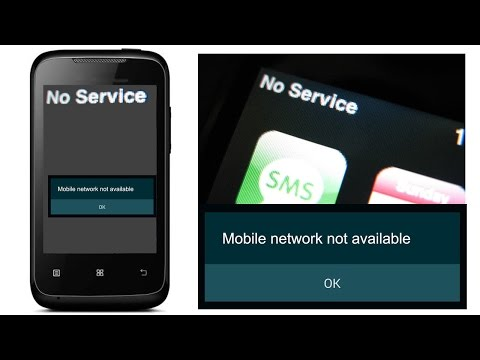 Fix Mobile network no service/ Mobile network not available /No