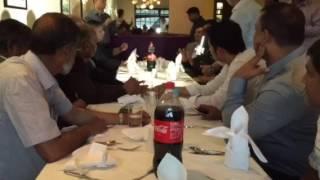 Mustafiz reception at London
