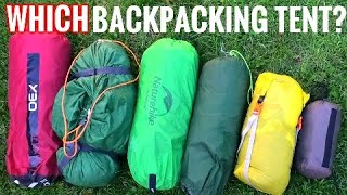 WHICH BUDGET BACKPACKING TENT? (6 SheĮters I use for Wild Camping)