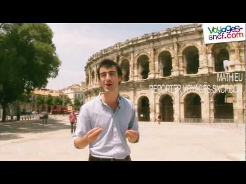 Vidéo visite Nîmes et le Pont du Gard