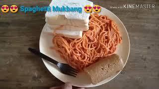 ASMR Spaghetti Mukbang 😎