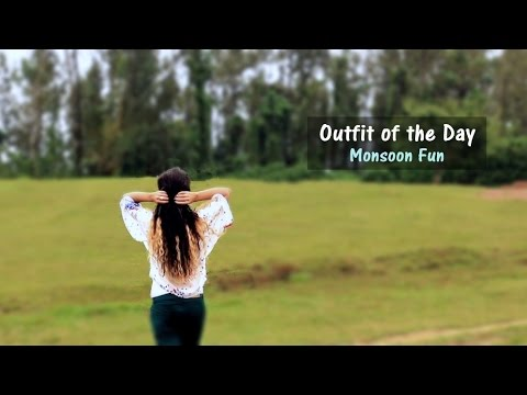 Coorg Travel - Colored Denims outfit - Indian Youtuber