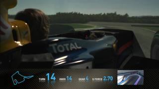 Formula 1 2010 - Track Simulation Hockenheim - Sebastian Vettel