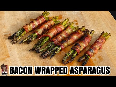 Bacon Wrapped Grilled Asparagus Grill Beast