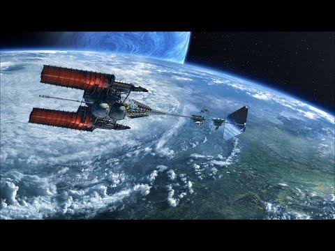 The Interstellar Venture Star arrives at Pandora   AVATAR