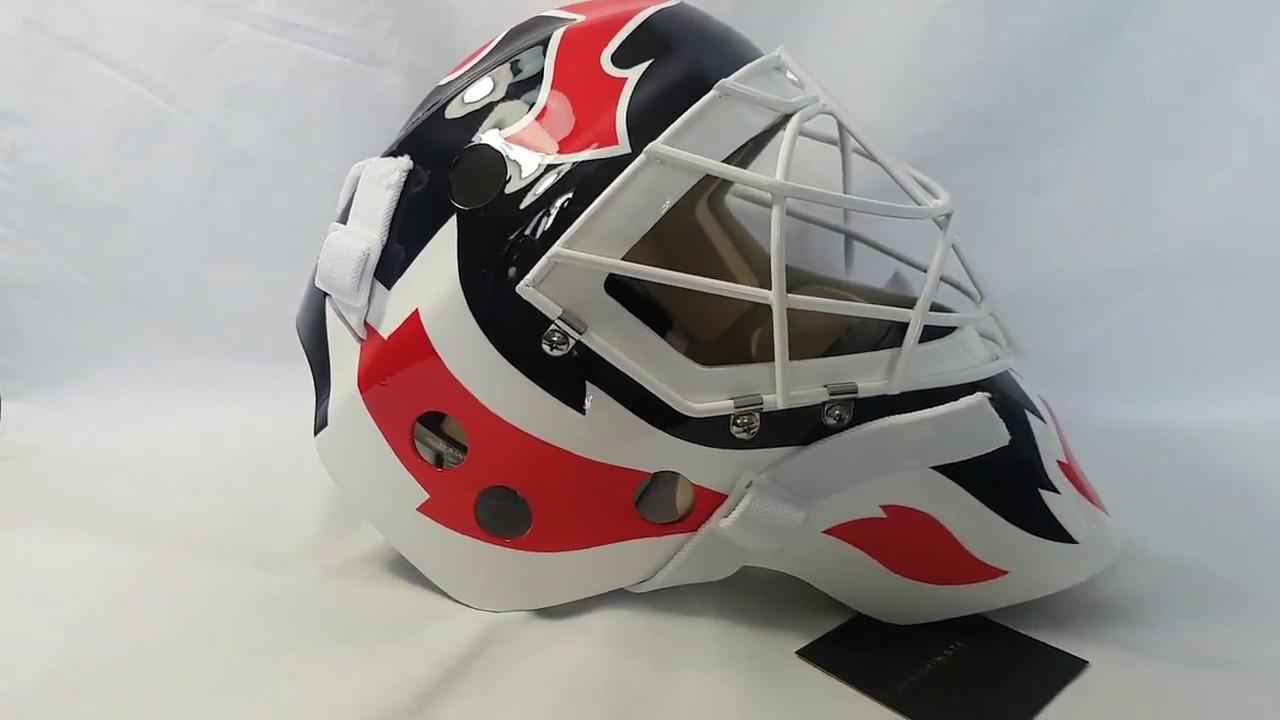 Martin Brodeur Signed Autographed Goalie Mask New Jersey Devils