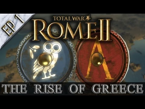 "Total War: Rome II ""The Rise of Greece"" CO-OP Let's Play with Dave & Joel 