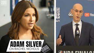 Adam Silver Reacts to Rachel Nichols vs. Maria Taylor Controversy at ESPN