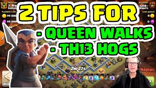 BEST Way To Use ROYAL CHAMP in HOG ATTACKS and Why You Should FREEZE Enemy Queen - Quick Tips