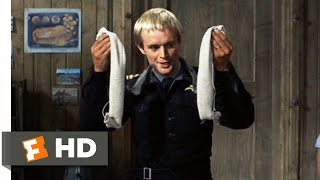 The Great Escape (6/11) Movie CLIP - How to Get Rid of the Dirt (1963) HD