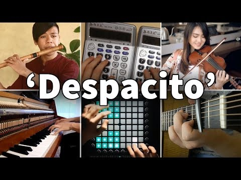Who Played It Better: Despacito (Violin, Calculators, Piano, Flute, Launchpad, Guitar)