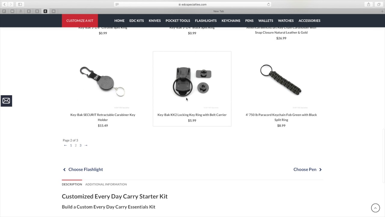 Customized Every Day Carry Kit - EDC Specialties | Every Day Carry