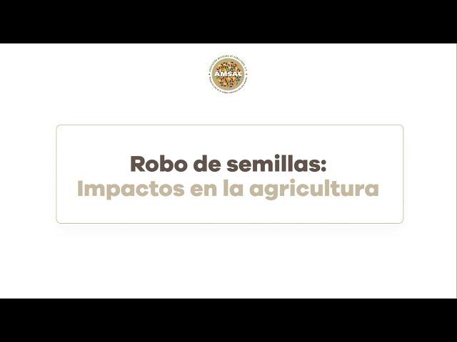 Robo de Semillas y sus impactos en la agricultura.