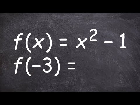 Learn How To Evaluate For A Function