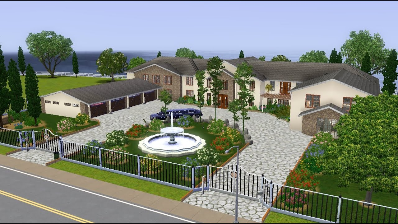 Sims 3 London Mansion YouTube