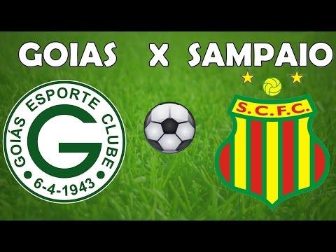 Goiás 2 X 1 Sampaio Corrêa - Brasileiro Série B 22/11/2016