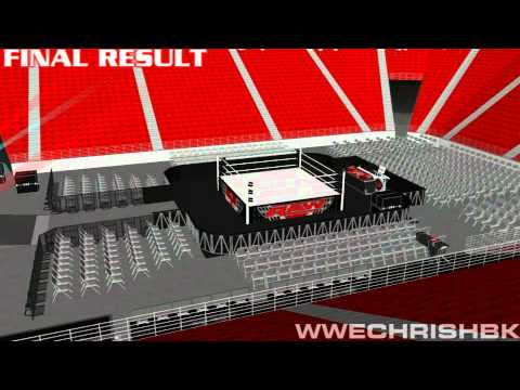 thomas and mack center seating chart for wwe: Wwe raw time lapse thomas and mack center wch youtube