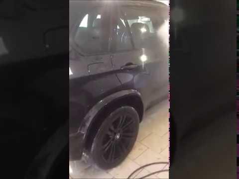 Вот результат после полировки и нанесения жидкого стекла на автомобиль.