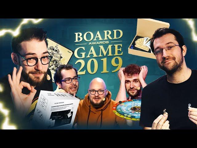 Board Game Awards 2019 : Notre sélection des meilleurs jeux !