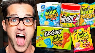 Download Tasting Every Flavor Of Sour Patch Kids Mp3 and Videos