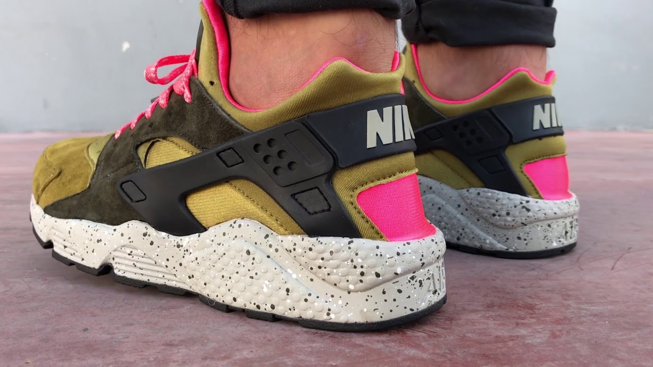 reputable site 55500 a36da Nike AIR HUARACHE RUN PREMIUM Desert   Cosmos Sport