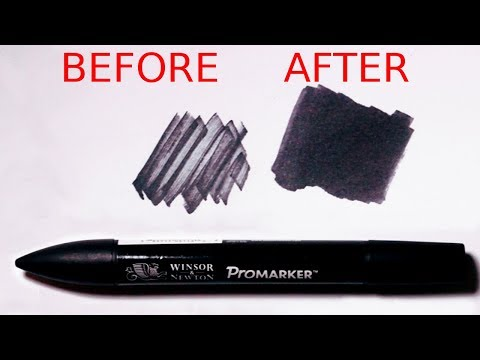 use-this-simple-trick-to-make-dried-out-markers-work-again!---promarker-tutorial